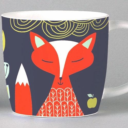 Folkland Foxy Mug - Grey