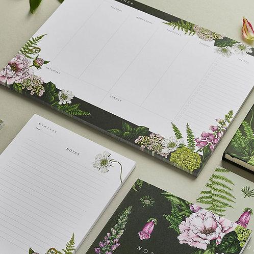 Weekly Planner  - Summer Garden