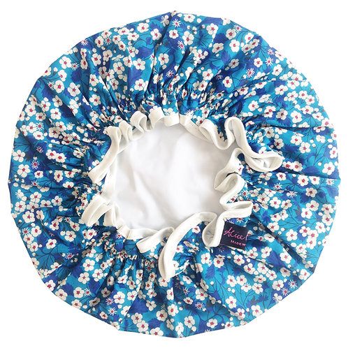 Handmade Shower Cap - Misti Blue