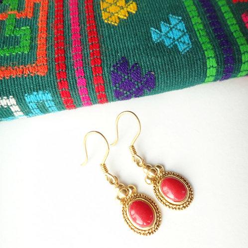 Handcrafted 'Pema' Drop Earrings