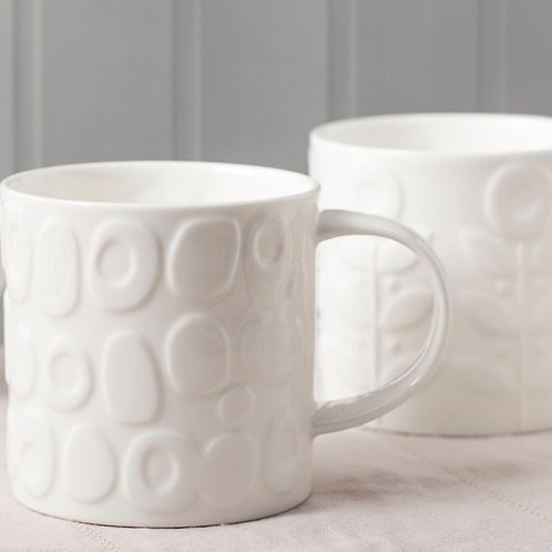 Tom Tom Mugs - Set of 2