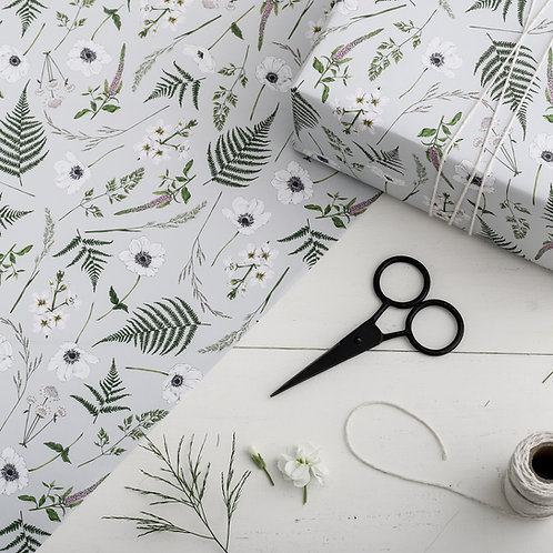 Botanical Wrapping Paper - Wild Meadow