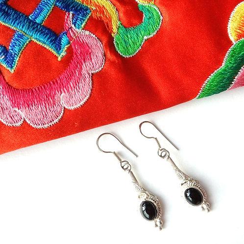 Handcrafted 'Dechen' Drop Earrings
