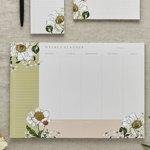 Weekly Planner  - Spring Blossom