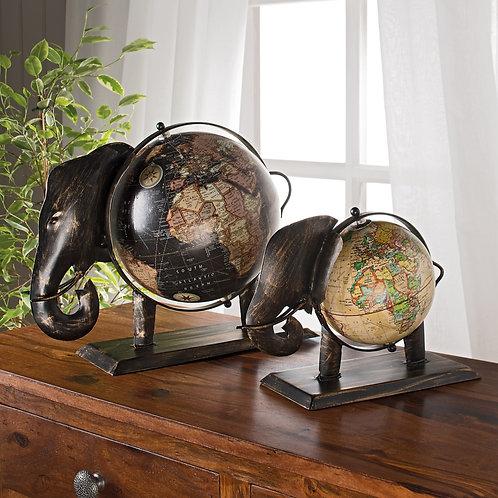 Handmade Elephant Globe - Large