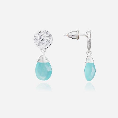 Kate Drop Earrings - Silver