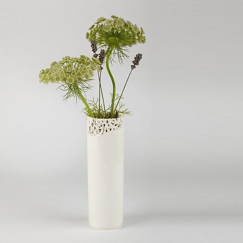 Tangled Fragment Slender Vase