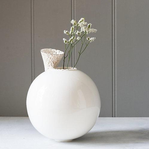 Handcrafted Sphere Vase