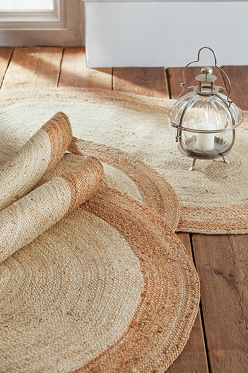 Eco-friendly Sariska Round Jute Rug