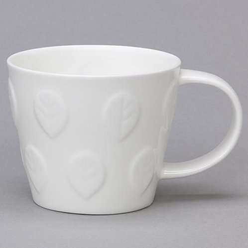 Tubby Repeating Leaf Mug