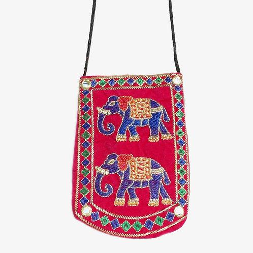 Handmade Elephant Sling Bag