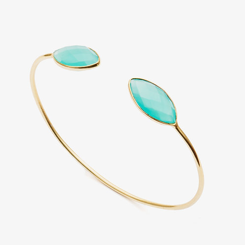 Handcrafted Oedis Open Bangle