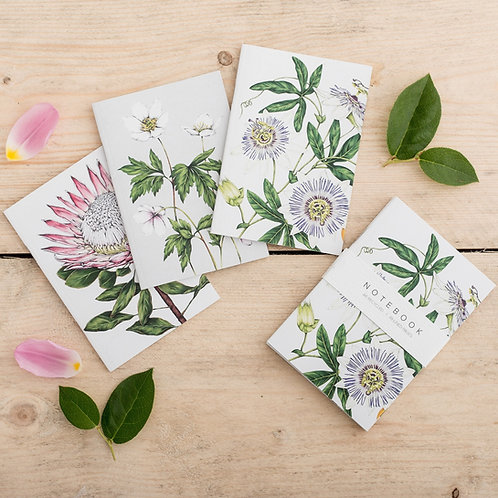 Notebooks - Botanical Species Prints Collection (Set of 3)