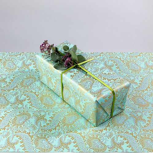 Teal Splendour Gift Wrapping Paper