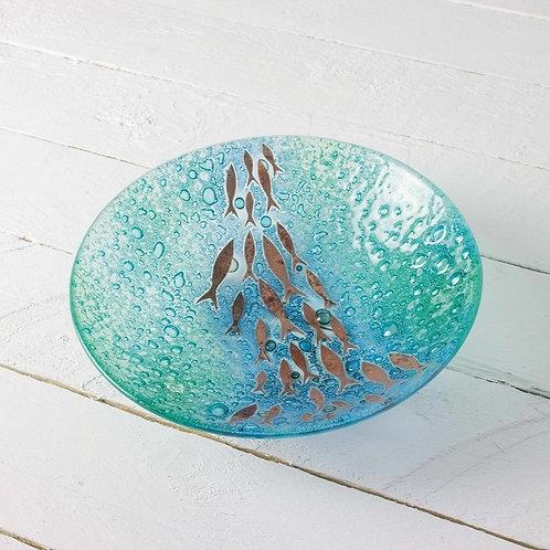 Handmade Gwithian Deep Round Bowl - Large