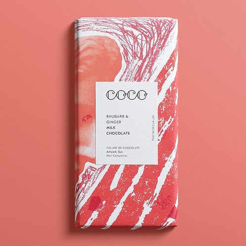 Rhubarb & Ginger Premium Chocolate