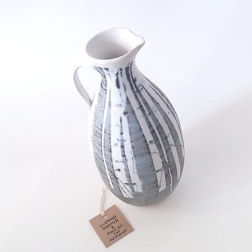 Handmade Silver Birch Tree Oil Jar