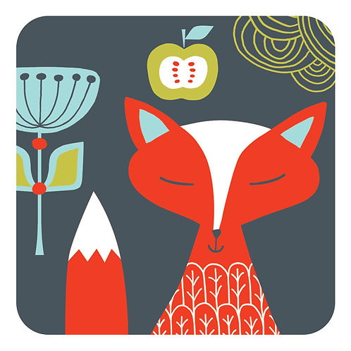 Folkland Foxy Coaster