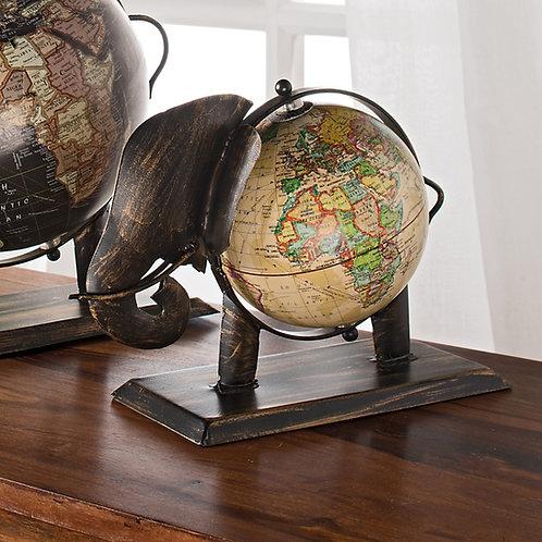 Handmade Elephant Globe - Small