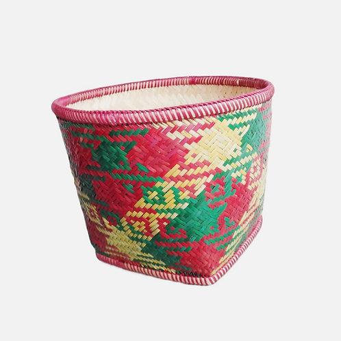 Handwoven Bamboo Basket - Lakchung