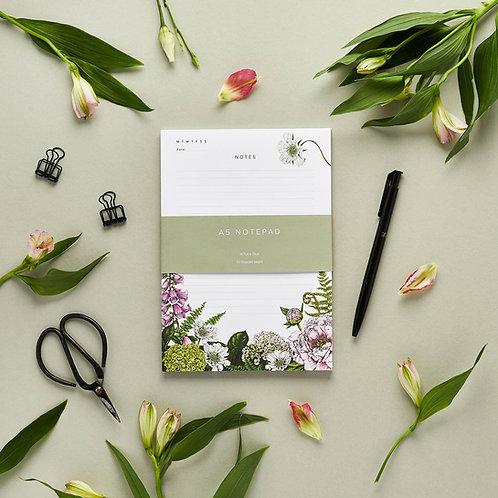 Notepad - Summer Garden