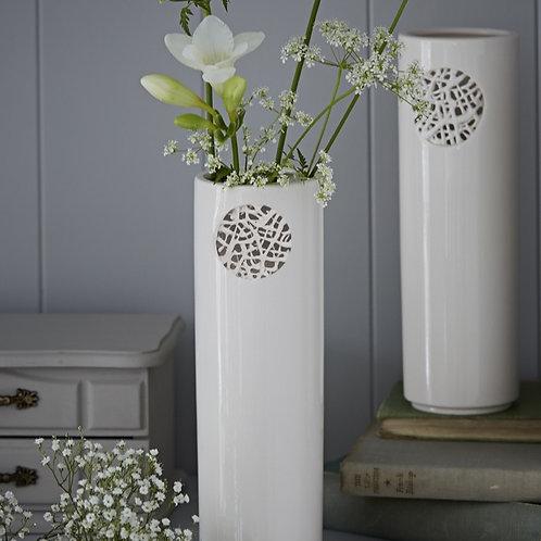 Tangled Motif Vase - Circle