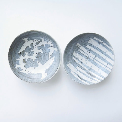 Handmade Large Dipping Bowls - Set of 2