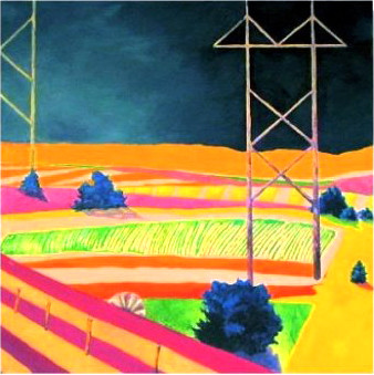 Of windmills and powerlines