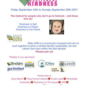 FESTIVAL OF KINDNESS NEW! events programme