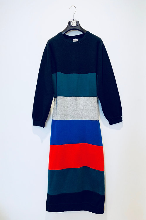 TACKLE SWEATER DRESS