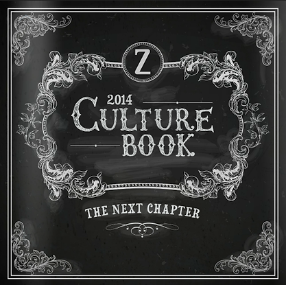 Zappos Culture Book - Consciou CapitalismField Guide Example of Culture Book