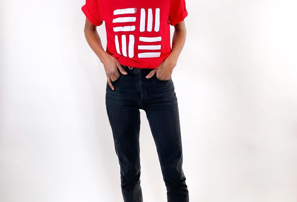 RED EMME Studio logo tee