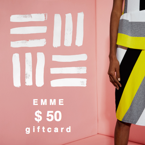 EMME GIFTCARD $50.00
