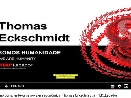 TEDx Talk on Conscious Capitalism reaches 100k Views