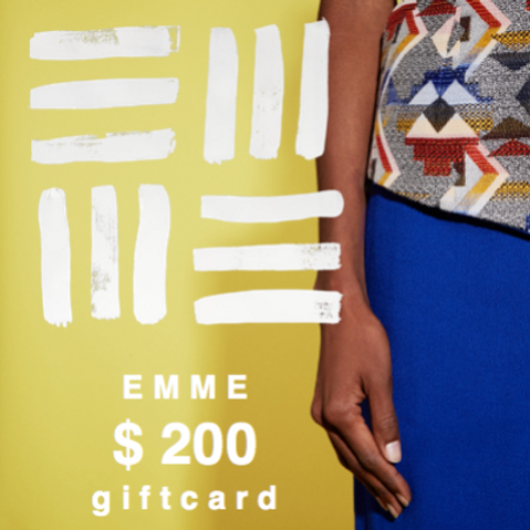 EMME GIFTCARD $200.00