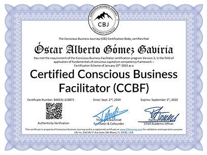 CCBF - Oscar Alberto Gomes Gabiria Comfa