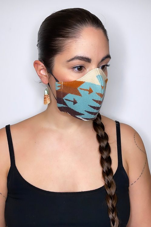 MINT SPLIT-SHOT FACE MASK