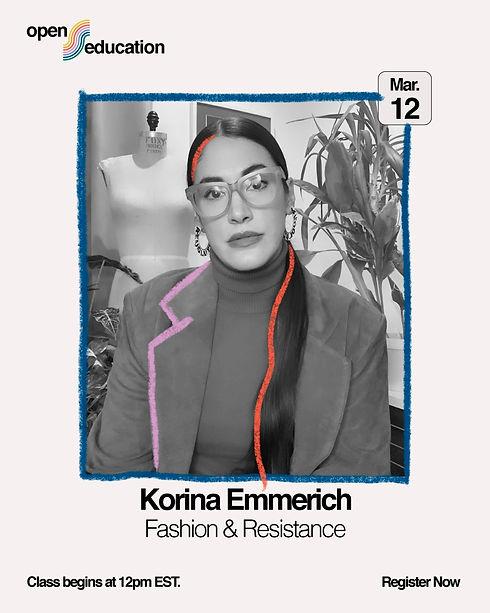 Korina Emmerich Slow Factory