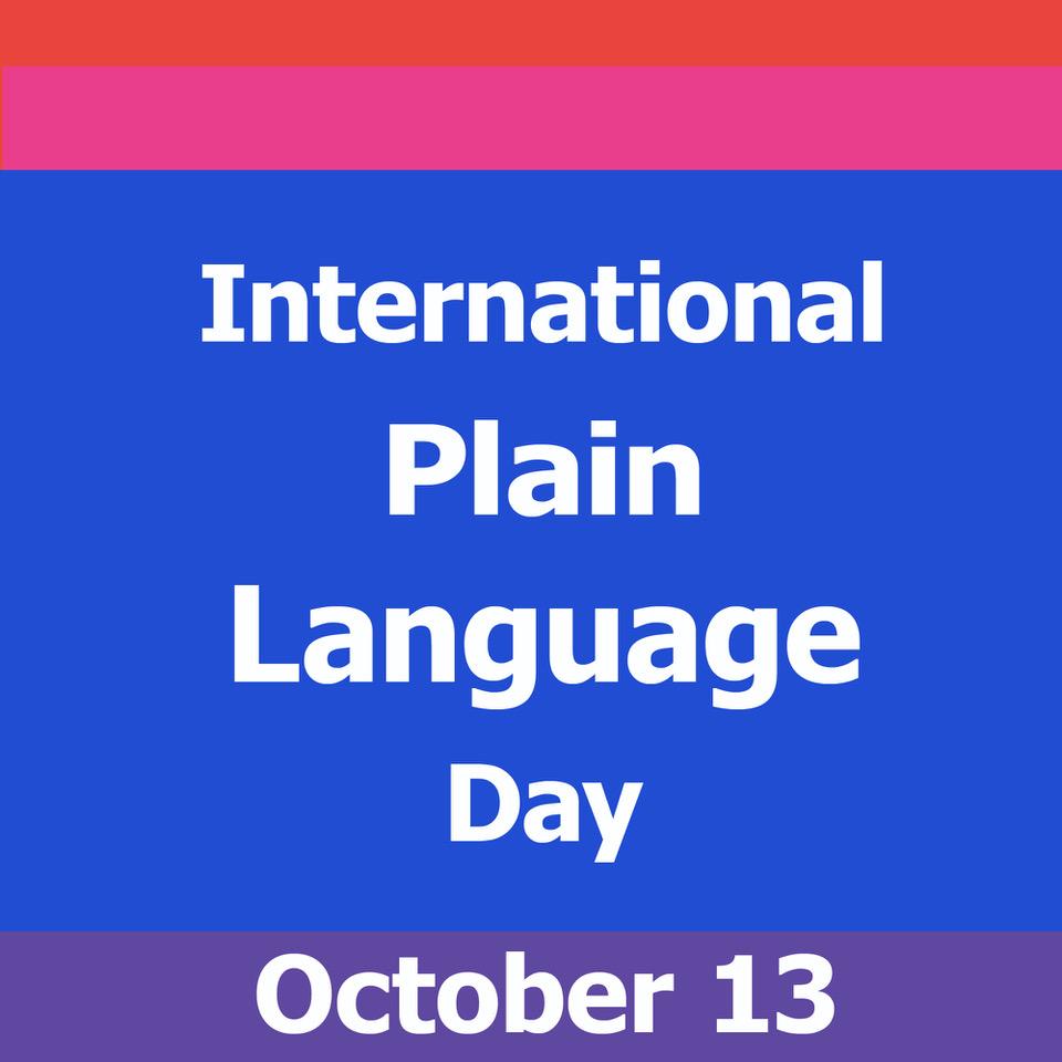 International Plain Language Day Logo.pn