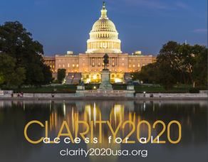 Gearing up for #CLARITY2020USA!