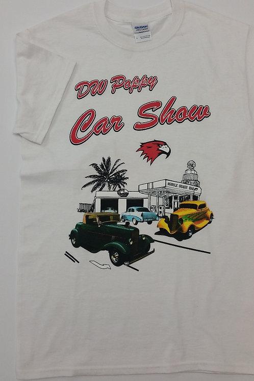 Classic Poppy Car Show T shirt