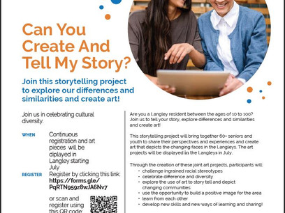 Langley Human Dignity Supports - Langley Local Immigration Partnership: Story Telling Project