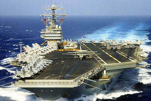Fixed ballast, solid ballast for aircraft carriers