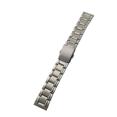 20mm straight end deployant clasp bracelet
