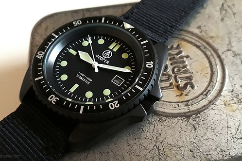 COOPER SUBMASTER BLACK PVD MILITARY DIVERS WATCH SM8016