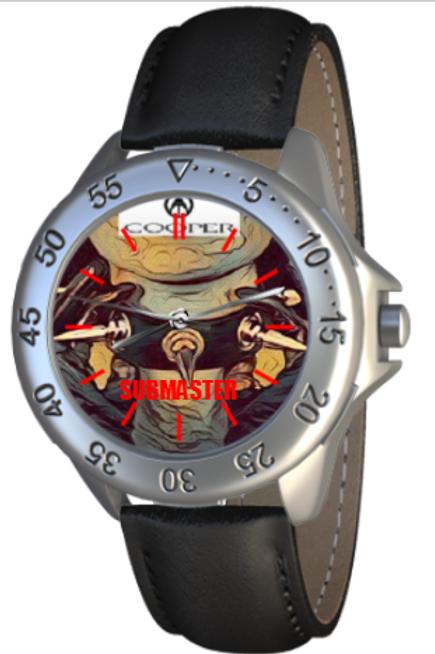 Submaster Choker BDSM / Bondage themed Collectible Wrist Watch