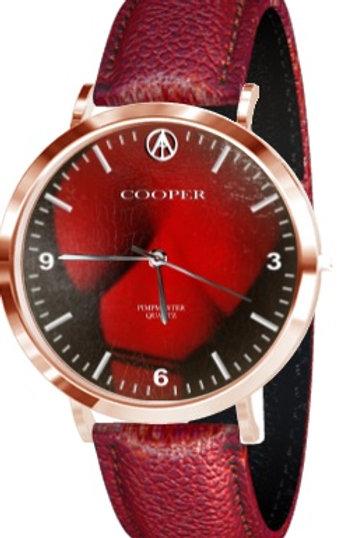 COOPER PIMPMASTER QUARTZ - Rose Gold / Lizard Strap