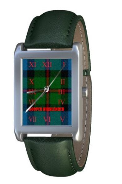Cooper Highlander Tartan Dress Watch