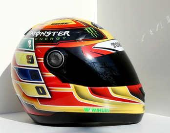 Aerografia caschi, hamilton, verniciatura, helmet design, grafiche personalizzate, studio grafico fox race design
