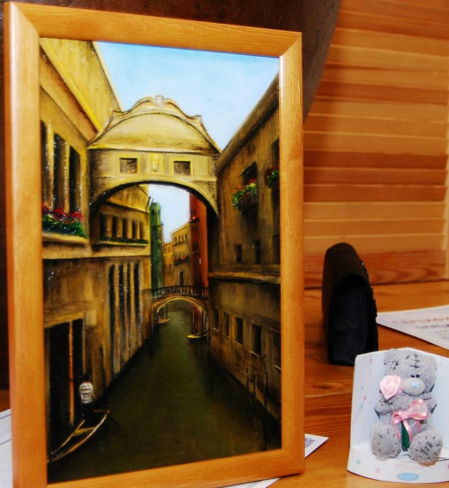 Olio su tela - Venice